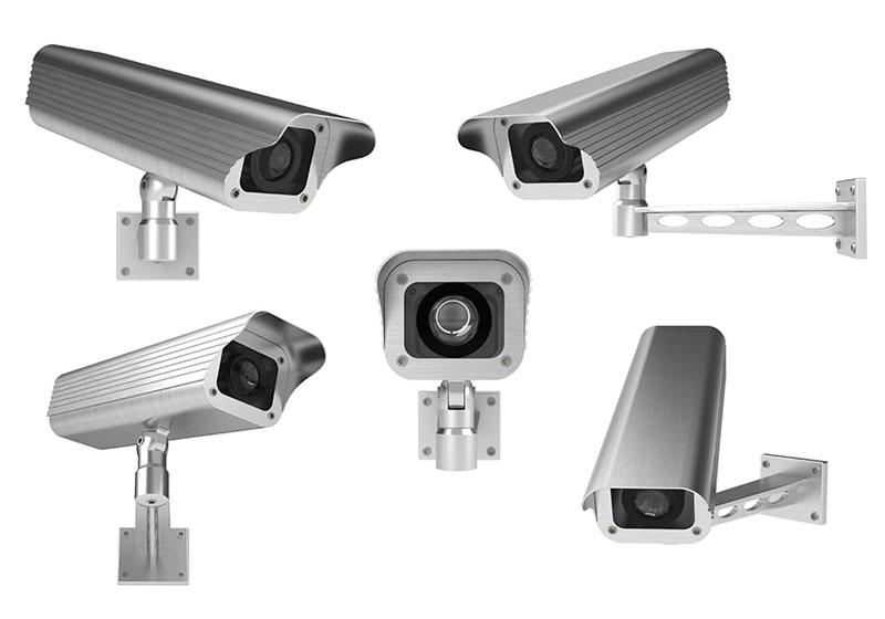Ensemble de camera de surveillance